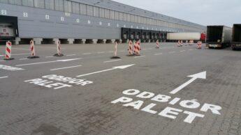Oznakowanie parkingów i terenów przyzakładowych