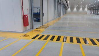 Oznakowanie poziome parkingów i garaży